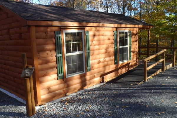 Wheelchair Accessible Cabin at Gannett Hill Park (JPG)