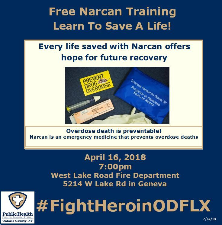 West Lake Road Fire Department Narcan Advertisement JPG