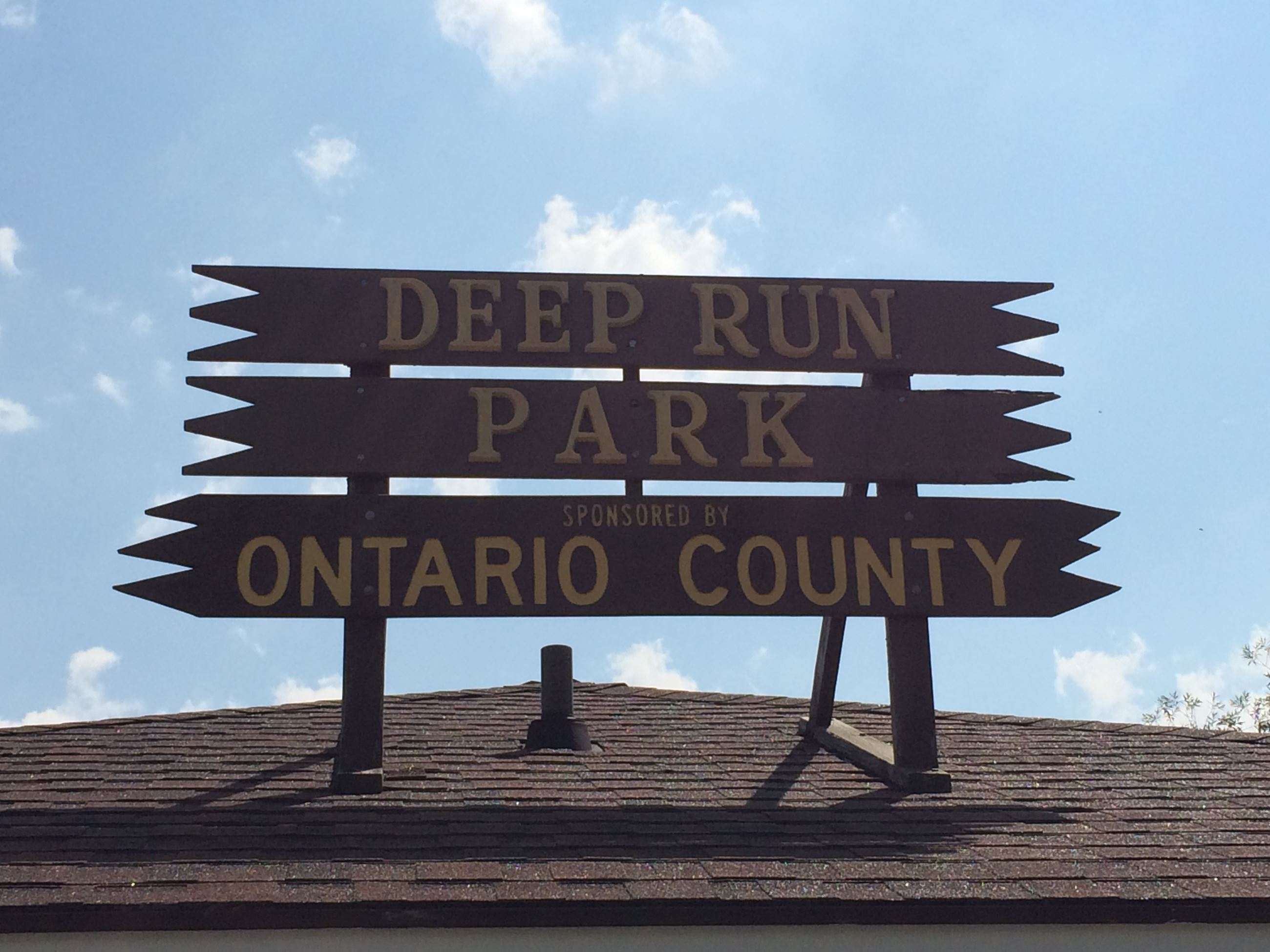 Deep Run - Park Sign