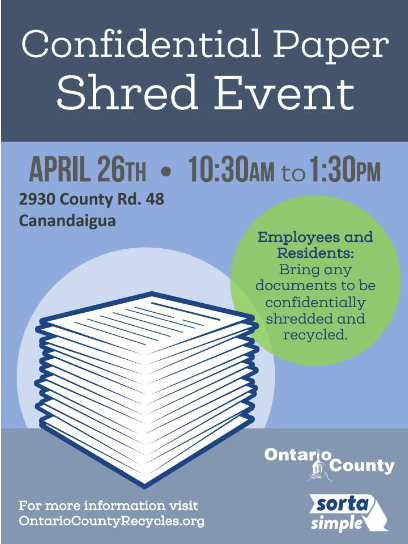 April 26, 2019 Shred Event