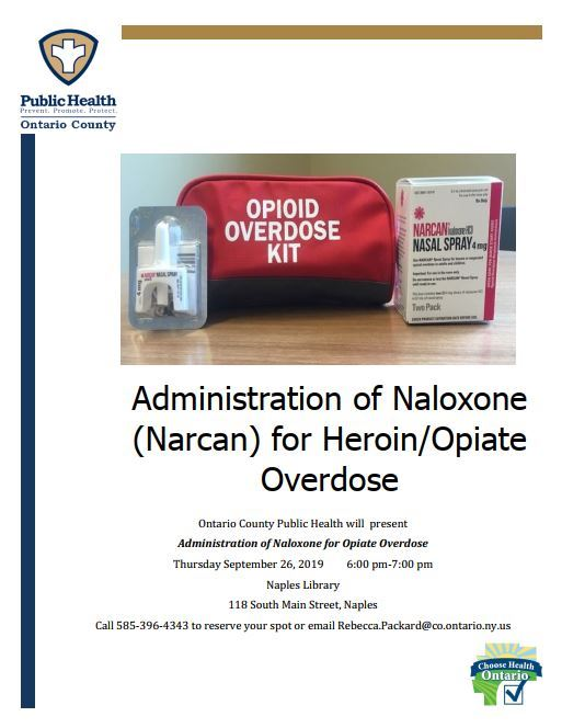 Naples Narcan Training
