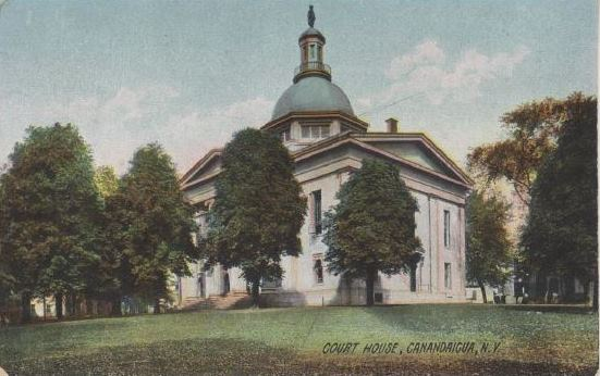 Court House - Postcard