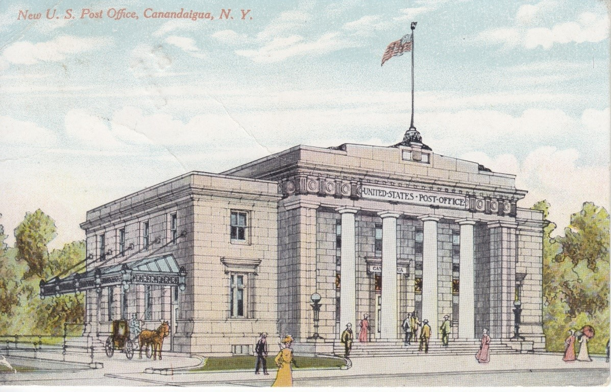 New york ontario county port gibson - Postofficepostcard Jpg