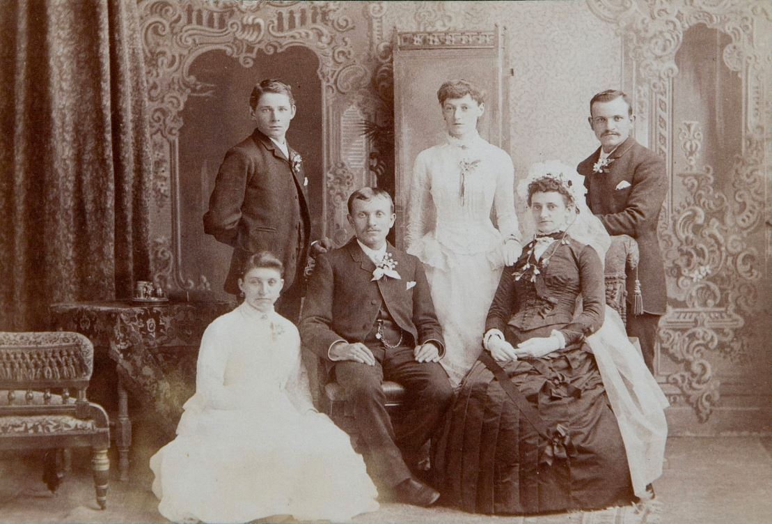 Unknown Family Photograph - Courtesy Wikipedia