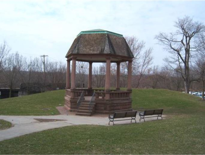 Bandstand at Atwater Park