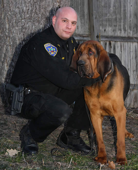 K-9 Truman and Deputy DiMariano