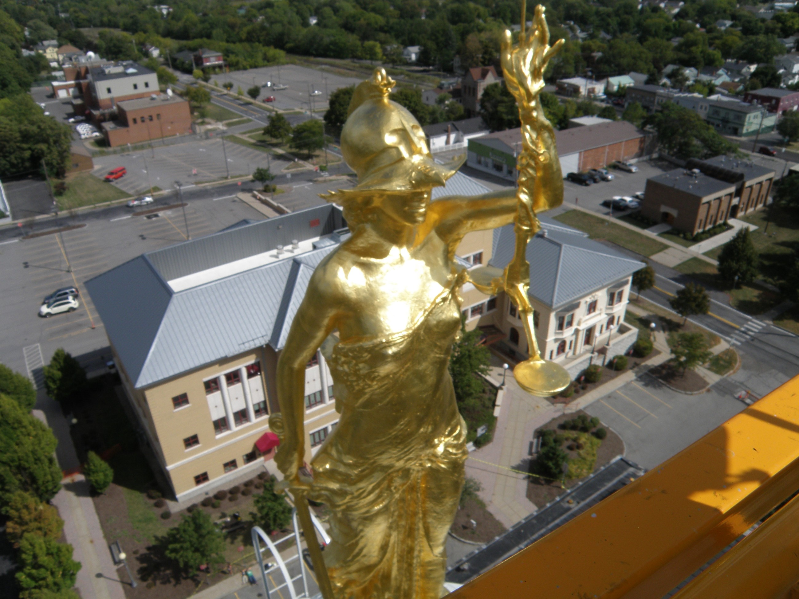 Beautiful Lady Justice