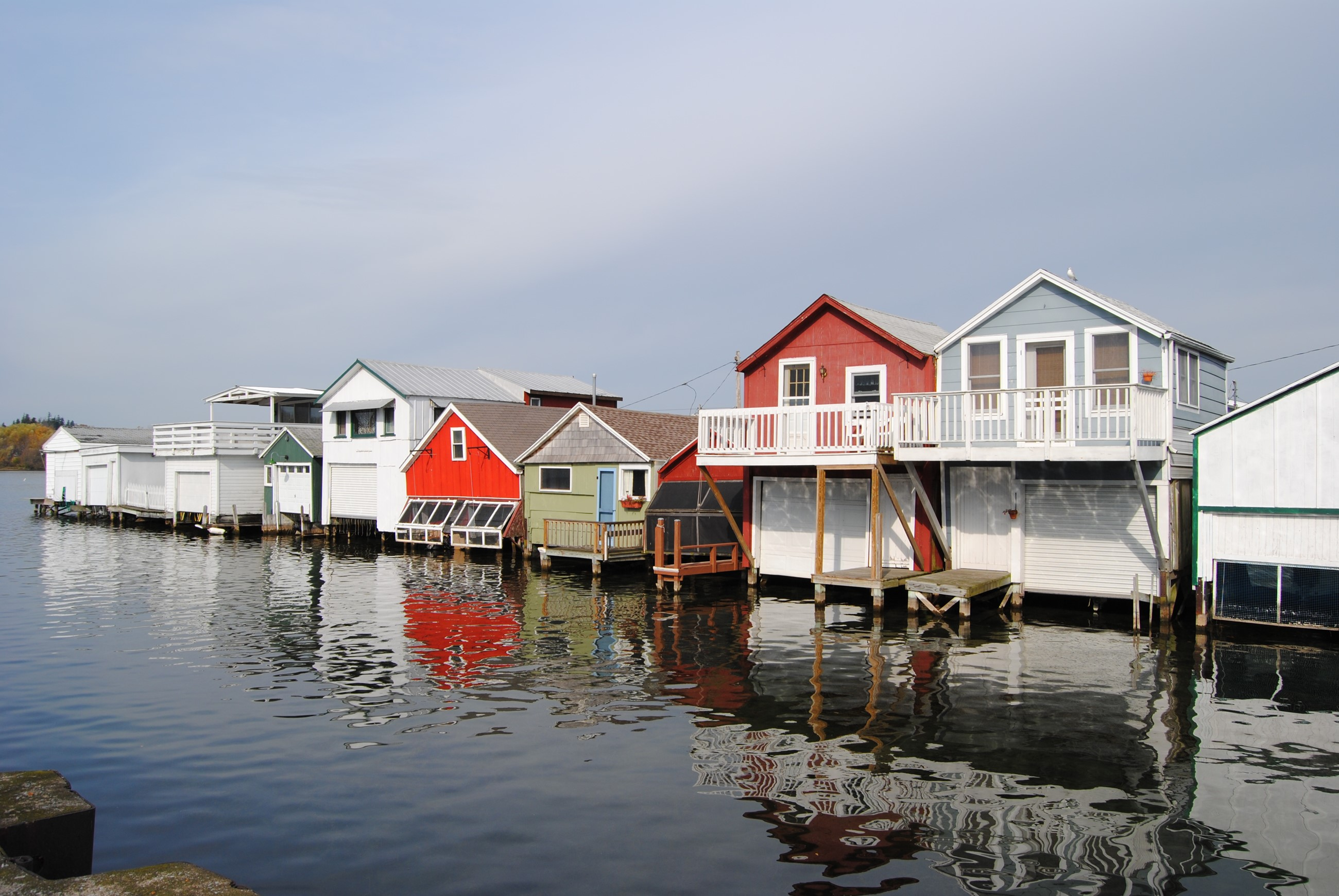 Boathouses - Canandaigua Lake