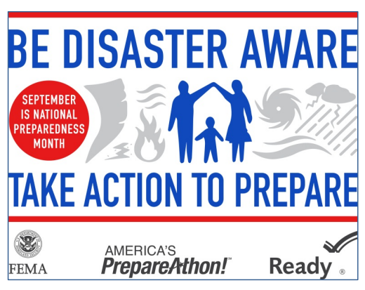 Disaster Preparedness Week Banner