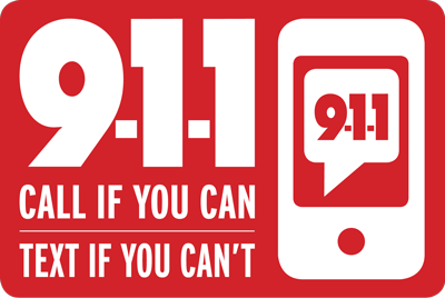 9-1-1 Call if you can, text if you can't