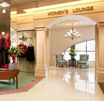 Von Maur, Women's Lounge